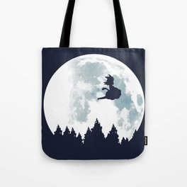 The Moon on Dragon Ball Tote Bag
