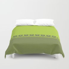 Chartreuse Spring Duvet Cover