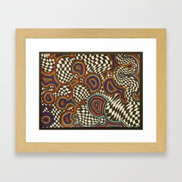 Infinite Swirl Framed Art Print