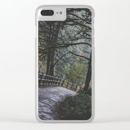 Walk in the Woods Clear iPhone Case