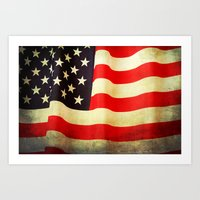 america Art Prints featuring America by ThePhotoGuyDarren