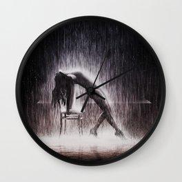 Rain Dancer Wall Clock