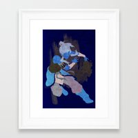 avatar Framed Art Prints featuring avatar by LynxArtCollection