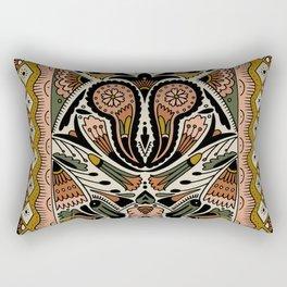 Botanical Print III Rectangular Pillow