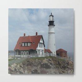 Portland Head Lighthouse Metal Print