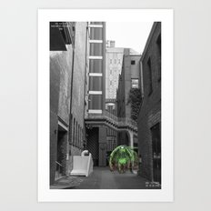 Unseen Monsters of Melbourne - Thorn Art Print