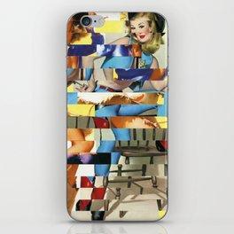 Glitch Pin-Up Redux: Yasmin & Yardley iPhone Skin