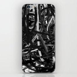 Black & White Abstract III iPhone Skin