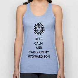 Keep Calm and Carry On: Supernatural Unisex Tank Top