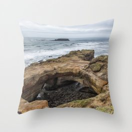 Not Much Punch for the Devil's Punchbowl Throw Pillow