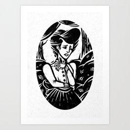 Langtree's Lament Art Print