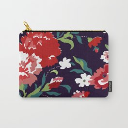 VAMPIRE WEEKEND FLORAL VECTOR Carry-All Pouch