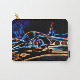 Neon Jet Carry-All Pouch