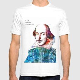 Graffitied Shakespeare T-shirt