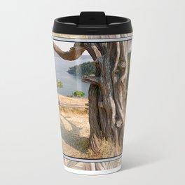 OLD JUNIPER AT BURROWS PASS ANACORTES Travel Mug