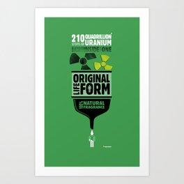 Original Lifeform - Uranium Art Print