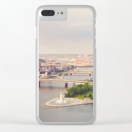 Pittsburgh, Pennsyvania Clear iPhone Case