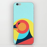 pagan iPhone & iPod Skins featuring Pagan animals - Bird by Atelier FP7