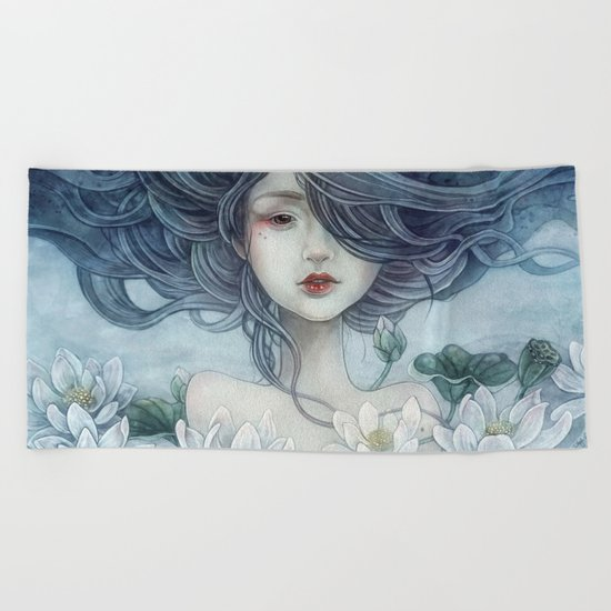 if only Beach Towel