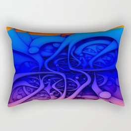 Feelin' Groovy Rectangular Pillow