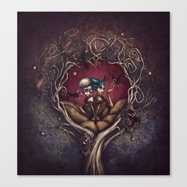 Sisters of Sorrow Canvas Print
