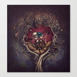 Sisters of Sorrow Canvas Print