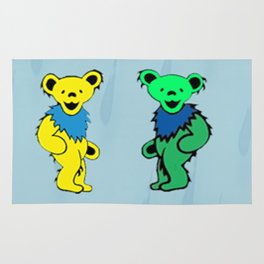 Dancing bears in the shower Rug