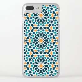 Tile of the Alhambra Clear iPhone Case