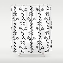 Leves and Bells Shower Curtain