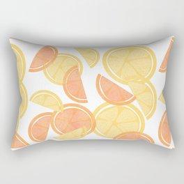 14 Citrus Showers Rectangular Pillow