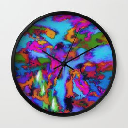 The fourth storm Wall Clock