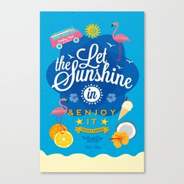 Let the Sunshine in No.2 Canvas Print