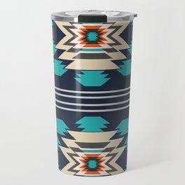 Double ethnic decor Travel Mug