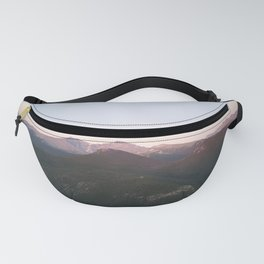 Longs Peak & Estes  Cone from Lily Mountain Fanny Pack