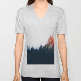 Waking up in a forest Unisex V-Neck