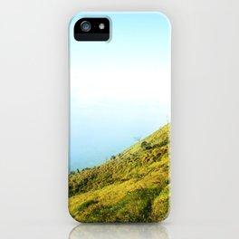 SLIDE SIDE HILL iPhone Case
