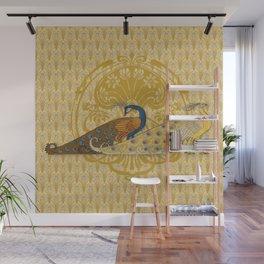Peacock Duo Wall Mural