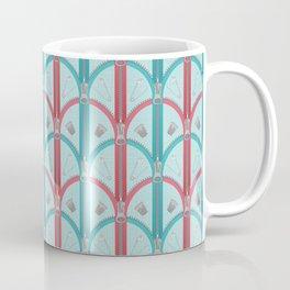 Sewing Artdeco Zippers Coffee Mug