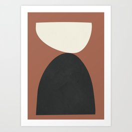Abstract Shapes 36 Art Print