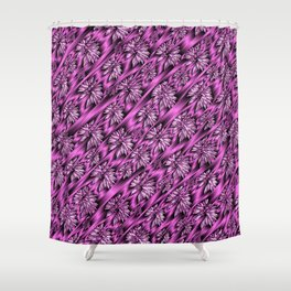 colored subtle pattern Shower Curtain