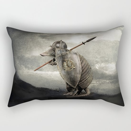 Armadillo by Eric Fan & Viviana González Rectangular Pillow