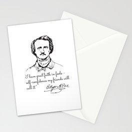 Edgar Allan Poe, Marginalia Stationery Cards