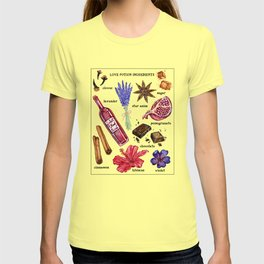 Love Potion Ingredients T-shirt