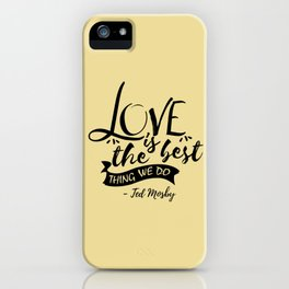 Here's the secret, kids [HIMYM] iPhone Case