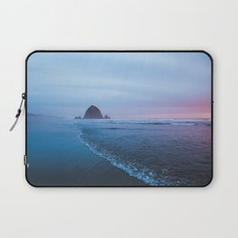 Haystack Rock Sunset Laptop Sleeve