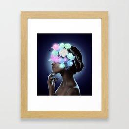 Moon Goddess Framed Art Print