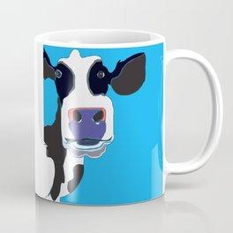 Cow in the Blue Sky Coffee Mug