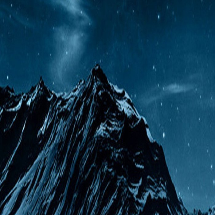 dark mountains Leggings