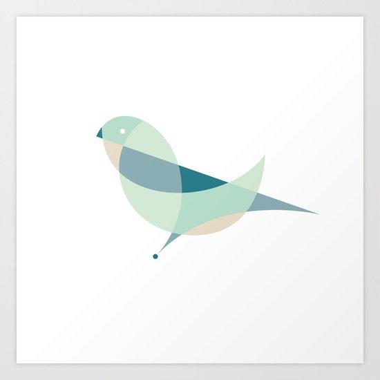 Contours: Dove Art Print