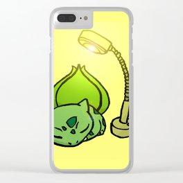 Sunlamp Basking Bulba Clear iPhone Case